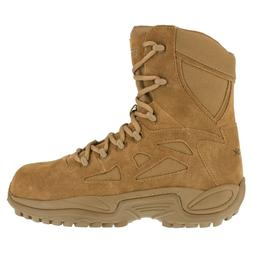 Reebok Men's Tactical Military Army Boots 8 Inch Coyote Comp