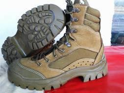Bates Mens 4.5W Combat Hiker Mountain Gore-tex Olive leather