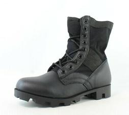 Rothco Mens Black Combat Boots Size 7