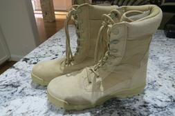 Mens Coyote Brown Boots New Military Work Combat Hot Weather