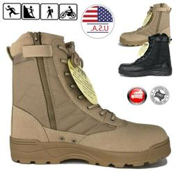 Mens Military Duty Work Boots Forced Entry Tactical Deployme