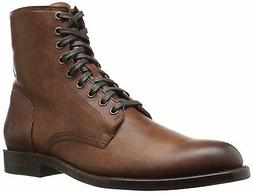 FRYE Mens Will Lace up Combat Boot, Copper, 11.5 D US