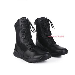 Mens Womens Army Tactical Boots Military SWAT Combat Outdoor
