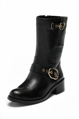 Vince Camuto Mid-Calf Boots Wilan Black
