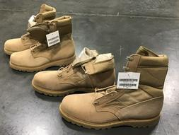 Thorogood Military Army Boots - Size 16 W, TAN, hot weather,