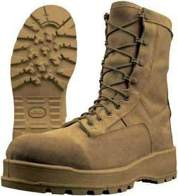 MILITARY COYOTE BROWN WATERPROOF GORE-TEX COMBAT BOOTS SIZE: