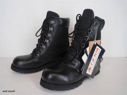 New Rocky Hiking Boots Womens Size 5.5 M Leather Black Thins