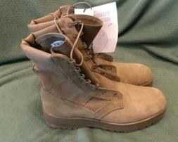 NEW Hot Weather Combat Boots Coyote Size 8.5 W NEW