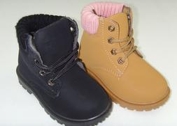 New Infant Toddler Boy's,Girl's Faux Suede Casual Combat Boo