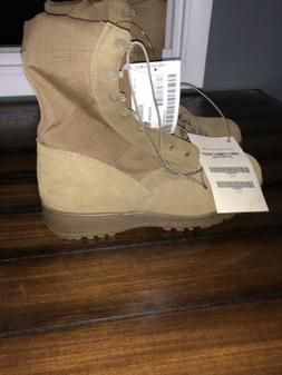 New McRae US Army Coyote Combat Boots Size 11.5W Military Is