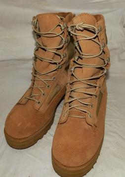 NEW MEN WOMENS COMBAT BOOTS DESERT TAN MILITARY ISSUE WELLCO