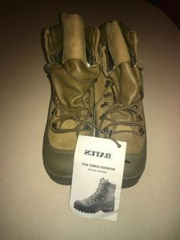 NEW Mens Bates Mountain Combat Tactical Boots Shoes 10 M Wor