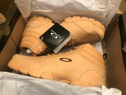 NEW Oakley Outdoor Military Combat Boots Clay Tan Beige Leat