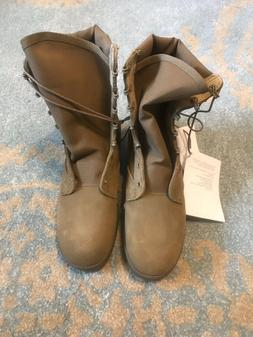NEW US Army Combat Boots! Hot Weather Coyote Men 8R