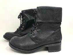 New w/ Defects! Women's Skechers 47517 Lace-Up Combat Boots