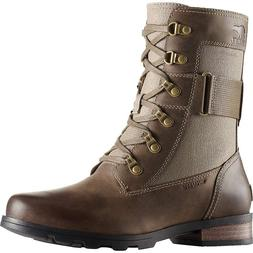 NEW Sorel Women's Emelie Conquest Major combat boots size 6