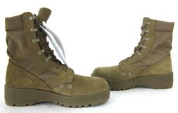 NWT ROCKY 798 Hot Weather Combat Boots Vibram Soles Coyote 7