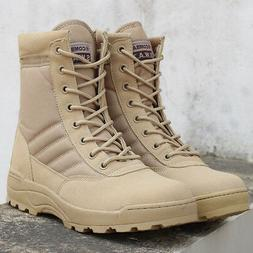 outdoor shoes hiking mens leather tactical boots