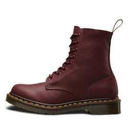 Dr.Martens Womens Pascal 8 Eyelets Virginia Brown Leather Bo