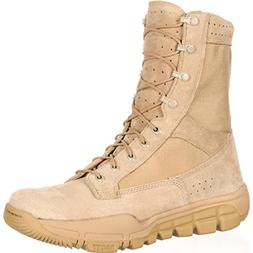 Rocky Men's C6 LW Commercial Tan Hunting Boot 8.5 W