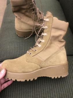ROCKY ARMY OCP HOT WEATHER COMBAT BOOTS Men's 5R VIBRAM SO