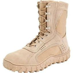 Rocky S2V Mens Desert Tan Leather Dry Combat Tactical Milita