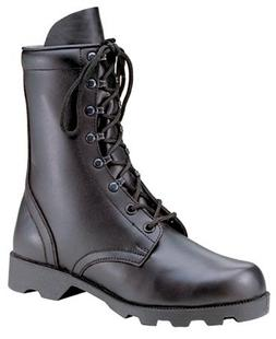 "ROTHCO LEATHER SPEEDLACE COMBAT BOOT / 10"" - BLK"