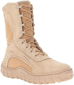 Rocky Men's 8 Inch S2v Fq0000105 Work Boot,Desert Tan,5 M US