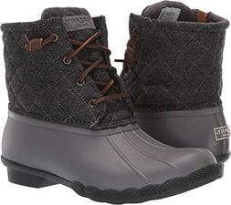 Sperry Women's Saltwater Quilted Wool Grey 5 M US