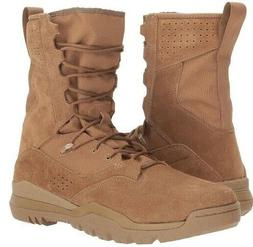 """NIKE SFB FIELD 2 8"""" Leather COYOTE Military Combat Boots AQ1"""