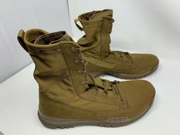 "Nike SFB Field 8"" Leather Boots Coyote 631371 990 Men's Size"