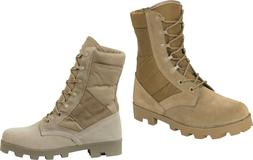 Speedlace Combat Jungle Boots Suede Leather Boot Panama Sole
