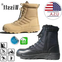 SWAT Men's Tactical Duty Boots Army Military Combat Army Wor