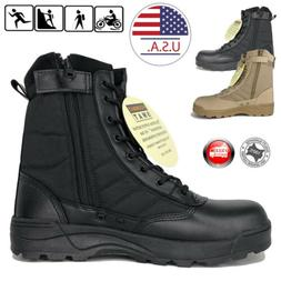 swat mens tactical duty boots army military