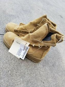ALTAMA Temperate Weather Combat Boots Coyote Brown Size 8R N