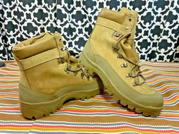 Bates Temporate Weather Olive Brown Mountain Combat Boot - S