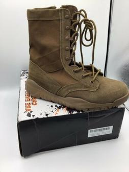 Thowi Mens Military Boots, Coyote Brown Tactical Combat Work
