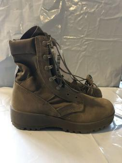 U.S. Army Combat Boots Hot Weather Coyote Brown - Mens Size