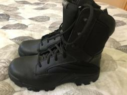 "BATES Ultra Lite 8""Tactical Combat Boots Black Side Zip EO2"