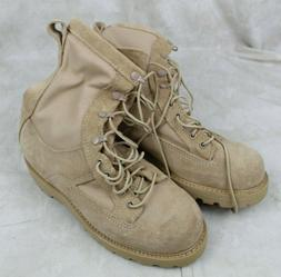 BATES US ARMY MILITARY ISSUE GORE-TEX DESERT TAN COMBAT BOOT