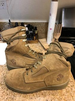 Bates USMC Hot Weather Combat Boots Coyote Brown 7.5 W