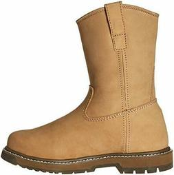 Muck Wellie BROWN Classic Soft Toe Men's Leather Work Boots,