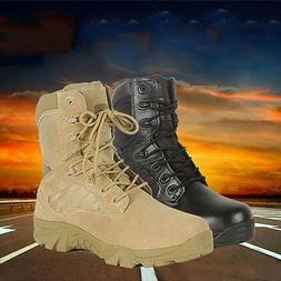Women Men Military Tactical Ankle Boots Desert Combat High T
