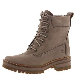 "Timberland Women's Courmayeur Valley 6"" Boot Medium Grey Nub"