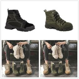 Women's Military Ankle Boots Army Combat Tactical Shoes Outd
