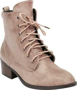 women s round toe lace up o