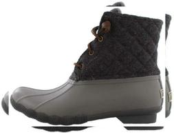 SPERRY Women's Saltwater Quilted Wool Grey 8 M US