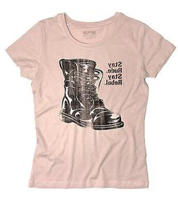 Women's Stay Rude Stay Rebel Boots Combat Boots Ska Punk