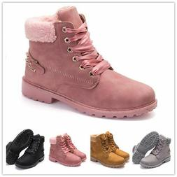 Women's Winter Martin Ankle Boots Outdoor Work Casual Waterp
