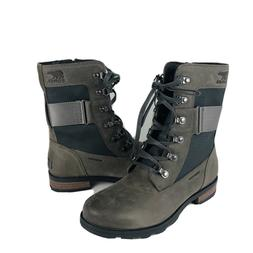 Sorel Womens 6 Conquest Waterproof Combat lace up ankle boot